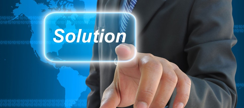 Providing solution is all about solving problems